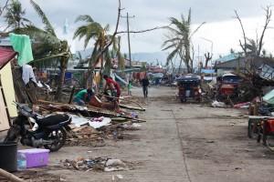 Zerstörung auf den Philippinen