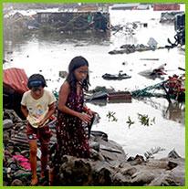 Kinder auf den Philippinen